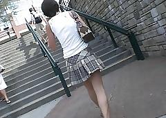 Steps Upskirt