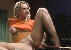 Julie is drenched added to..