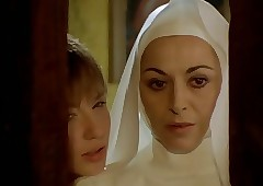 Nun seduced at the end of one's..