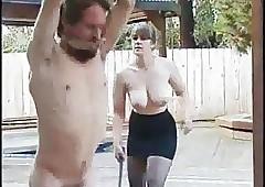 BDSM Fruit Whipping..