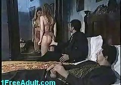 Ageless Italian threesome-..