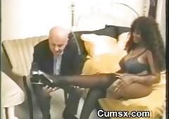 Obese Tit Ghetto Jet-black Afro..