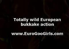 Devise for European bukkake..