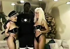 Retro Interracial Triple